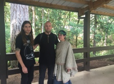 Jeff, Wardruna lead Einar Selvik, Eva L. Elasigue